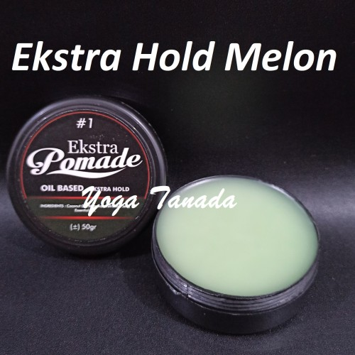Foto Produk Ekstra Pomade Mini Oilbased Aroma Buah 2 oz By King Pomade (FREE SISIR - Ekstra Hold dari Yoga Tanada