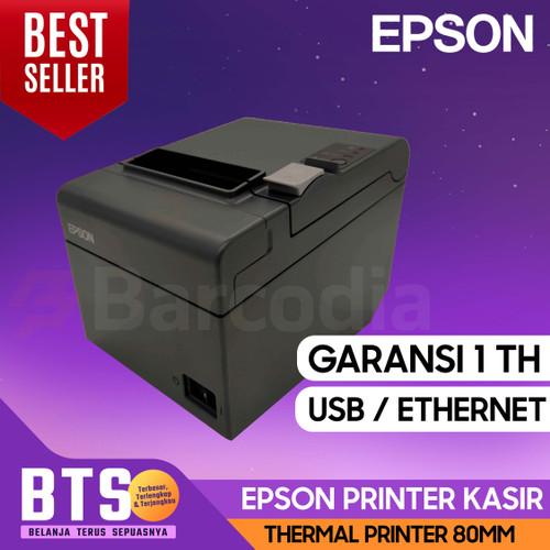 Foto Produk PRINTER EPSON TMT82 USB KERTAS THERMAL 80MM | TM-T82 USB GARANSI dari Barcodia Indonesia