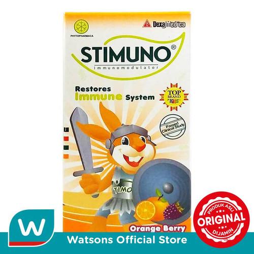 Foto Produk Stimuno Orange Berry 60ml dari Watsons Indonesia