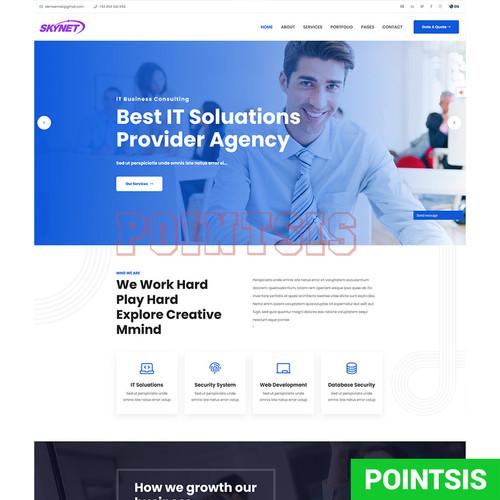 Foto Produk Source Code Web Bisnis Company Profile Dengan CMS Full Laravel dari pointsis