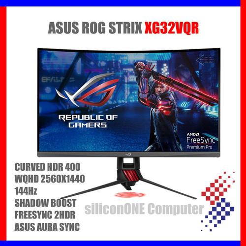 "Foto Produk ASUS XG32VQR ROG STRIX WQHD 32"" 144Hz HDR400 dari silicon ONE Computer"