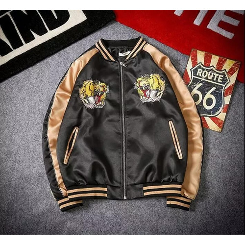 Foto Produk Jacket Sukajan Japan Tiger X-Urband Original A096 - Cream, S dari X-Urband Official