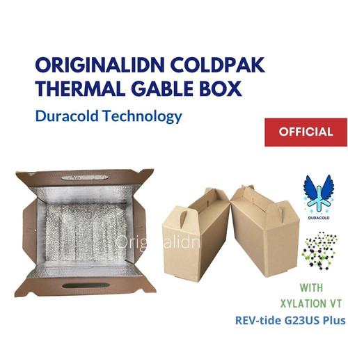 Foto Produk Gable Box Dus Botol Handle Tahan Dingin Thermal Duracold - 21x12x18 cm dari Originalidn