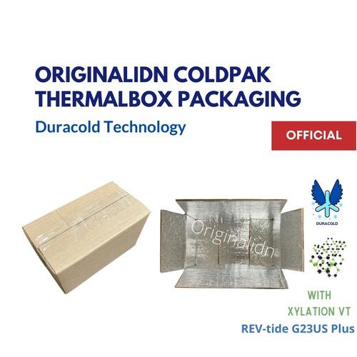 Foto Produk COLDPAK Thermal Insulated Box Packaging Botol/Frozen Food Tahan Dingin - 32,5x22x11,5 cm dari Originalidn