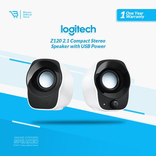 Foto Produk Logitech Z120 Stereo Speaker Putih dari BLISATU