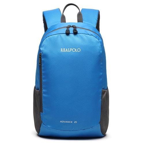 Foto Produk Real Polo BCI New Arrival Tas Ransel Kasual Backpack Up to 12 inch - Biru Muda dari realpolobags