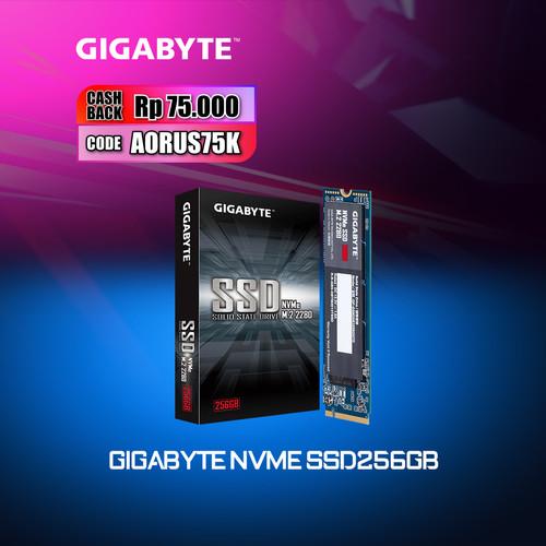 Foto Produk Gigabyte NVMe SSD 256GB M.2 2280 PCI-Express 3.0 x4 dari Myclub