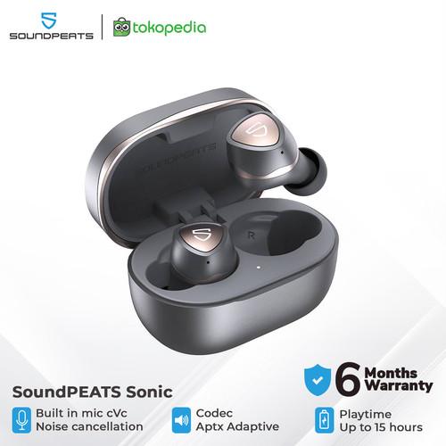 Foto Produk SoundPEATS Sonic APTX Adaptive True Wireless Earbuds - Grey dari SOUNDPEATS OFFICIAL