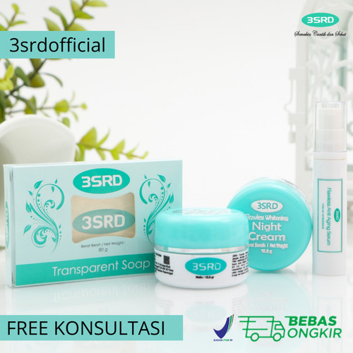 Foto Produk Cream Pemutih Wajah yang Aman untuk Ibu Hamil & Menyusui 3SRD dari 3srdofficial
