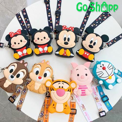 Foto Produk Tas Selempang Anak Rubber Karakter Import - Tas Selempang Mini [JL03] - MICKEY dari Go Shopp