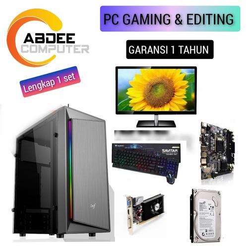 Foto Produk CPU RAKITAN PC CORE I5 RAM 8 GB HDD 500 GB EDITING dari riuu computer