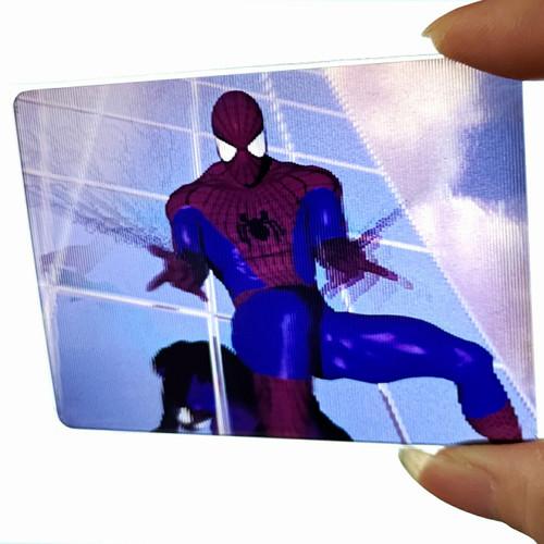 Foto Produk 1996 Marvel 3D Motion Spiderman Trading Card by Fleer Skybox dari Charu Toys
