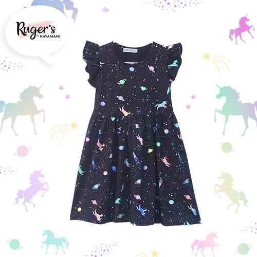 Foto Produk Rugers By Kayamani - Dress Anak - Unicorn Glitter - 2-3 tahun dari rugers_bykayamani