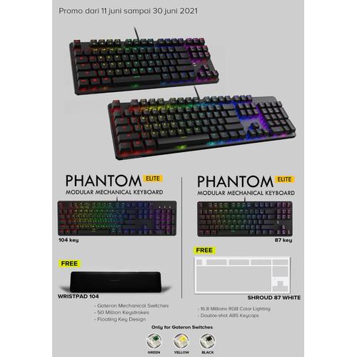 Foto Produk Tecware Phantom Elite 87 - Gaming Keyboard dari GOODGAMINGM2M