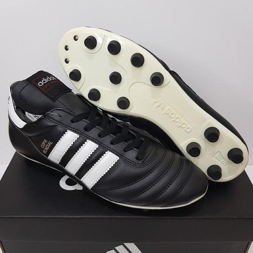 Foto Produk Sepatu Bola - Soccer Adidas Copa Mundial Black White - FG dari Cross Sport