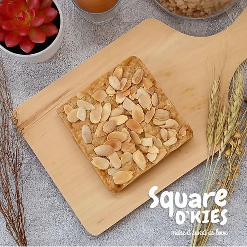 Foto Produk Almond Cheese Soft Cookies Square O'kies dari Square O'kies
