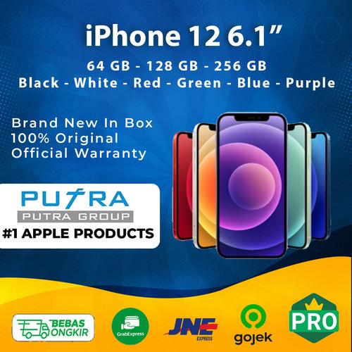 Foto Produk (IBOX) iPhone 12 64GB 128GB 256GB Garansi Resmi 1 Tahun 64 128 256 GB - 64 GB, Red dari Putra Group