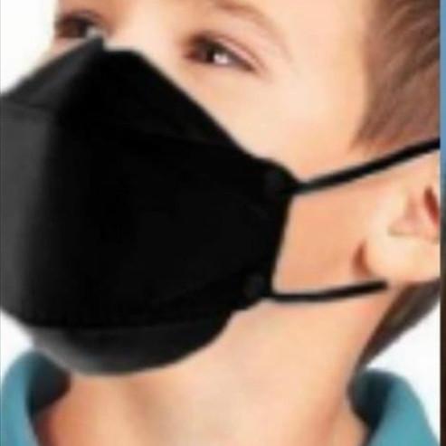 Foto Produk Masker Kf94 Anak isi 10pcs Hitam/Putih - Hitam dari Vigoe shop
