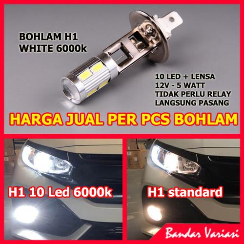Foto Produk Bohlam H1 LED Super White dari Bandar-Variasi