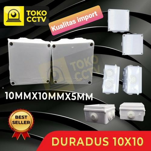 Foto Produk DURADUS/ Junction Box 100 x 100mm Waterproof High Quality dari toko-cctv