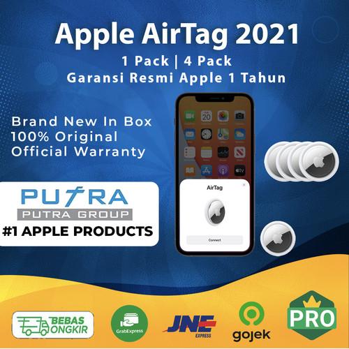 Foto Produk (RESMI) Apple AirTag AirTags | Air Tag | Air Tags| Garansi Resmi Apple - 1 Pack dari Putra Group