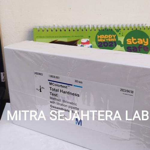 Foto Produk TOTAL HARDNESS TEST MERCK 1 PACK 108039 | 1.08039 300 TEST dari Mitra Sejahtera Lab