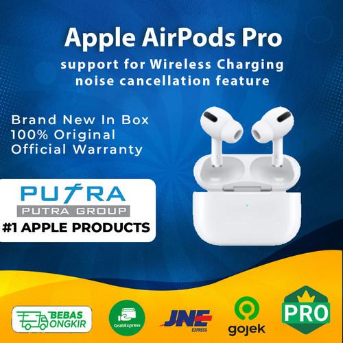 Foto Produk (RESMI) Apple Airpods Pro Airpod Air Pods Wireless MWP22 IBOX SEGEL - Garansi Inter dari Putra Group