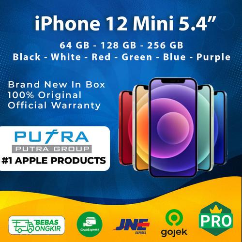 Foto Produk (IBOX) iPhone 12 Mini 64GB 128GB 256GB Garansi Resmi 64 128 256 GB - 64 GB, Red dari Putra Group