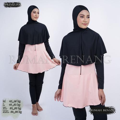 Foto Produk Baju renang muslimah dewasa baju renang wanita muslim baju renang - R 04, M dari Rumah Renang