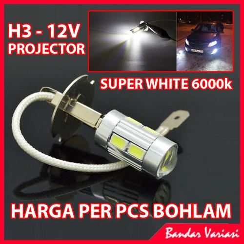 Foto Produk Bohlam H3 LED Super White dari Bandar-Variasi