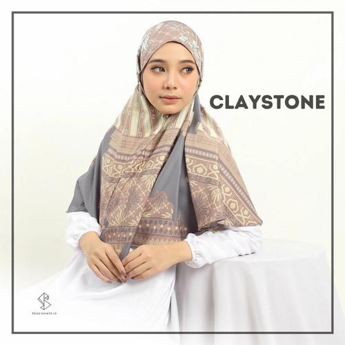 Foto Produk Hijab Instant Zannah Bergo Motif - Claystone dari ShintahijabID