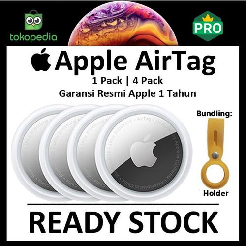 Foto Produk Apple AirTag 2021 Original 1 / 4 Pack iPhone AirTags Air Tag Tags - loose pack dari Big Berry Cellular