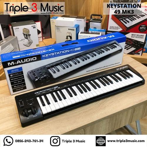 Foto Produk packing kayu M-AUDIO Keystation 49 MK3 MKIII Midi Controller Keyboard dari triple3music