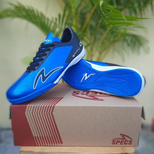 Foto Produk SEPATU FUTSAL SPECS ACCELERATOR SATU MURAH BERKWALITAS - blue black, 41 dari hartoop footwear & sport socks