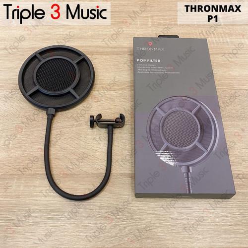 Foto Produk THRONMAX P1 Premium gaming pop filter dari triple3music