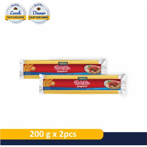 Foto Produk PRONAS Pastamia Spaghetti 200 g Bundling 2 pcs dari Pronas Official Store