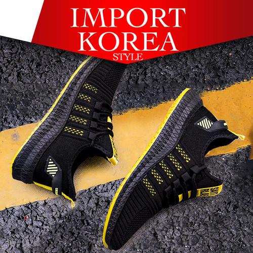 Foto Produk Sneakers Import Sepatu Casual Pria Korea - Orange, 43 dari Toko DigiMart