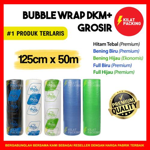 Foto Produk Plastik Bubble / BUBLE Wrap 125cm x 50m DKM PLUS PREMIUM MURAH - HITAM TEBAL dari kilatpacking