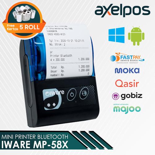 Foto Produk Printer Bluetooth untuk kasir/PPOB MP 58 X dari axelpos