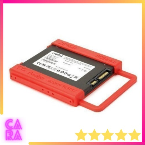 Foto Produk Bracket Mounting Kit Internal HDD SSD 2.5 Inch ke 3.5 Inch - WSE091 - Plastik dari CARA Store