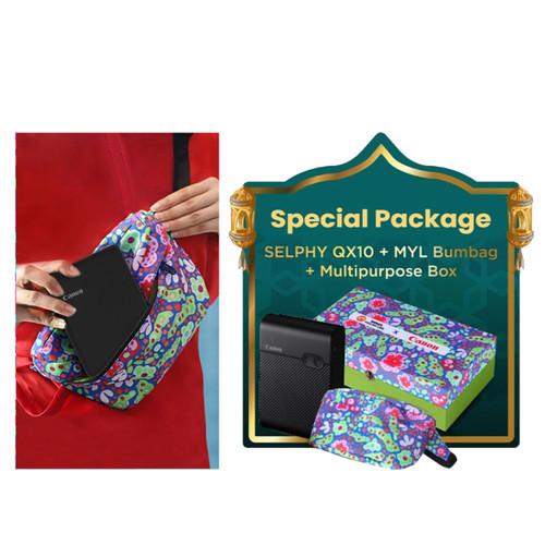 Foto Produk CANON Selphy QX10 + MYL Bumbag + Multipurpose Box dari Focus Nusantara