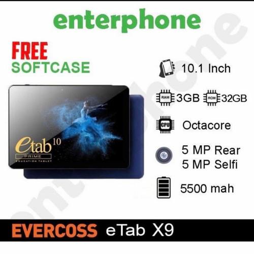 Foto Produk Tablet Evercoss ETab 10 Prime X9 3/32Gb Alternatif Advan Sketsa - PAKET PLUS PEN dari enterphone2