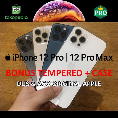 Foto Produk iPhone 12 Pro / 12 Pro Max 128GB 256GB 512GB Bekas Mulus Fullset Ori - 12 pro, 128gb dari Big Berry Cellular