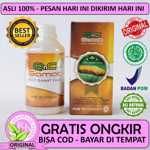 Foto Produk QnC Jelly Gamat Asli 100% ORIGINAL dari Ragheeda Herbal