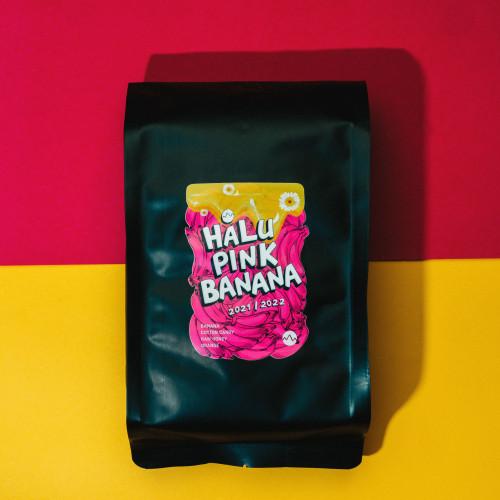 Foto Produk Halu Pink Banana (1000 gram) roasted beans specialty coffee biji kopi dari Space Roastery