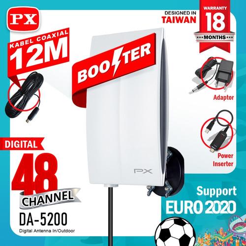 Foto Produk ANTENA TV Digital Indoor / Outdoor PX DA-5200 Antenna dari Sentra Elektrik Mart