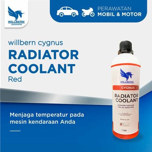 Foto Produk Air Radiator Red Coolant Willbern Cygnus volume 1 liter dari WillbernOfficial