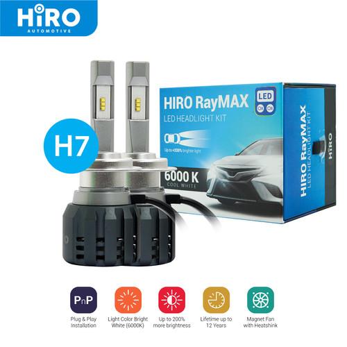 Foto Produk Lampu Mobil HIRO LED RayMAX - Soket H7 - Terang 200% & Berkualitas dari Hiro Automotive