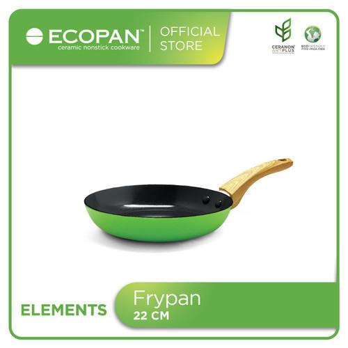 Foto Produk Ecopan Elements Frypan 22cm / Wajan Keramik Anti Lengket dari Ecopan Official Store