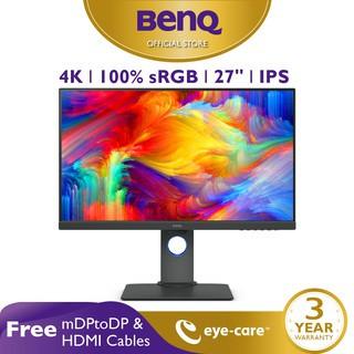 Foto Produk Monitor 4K BenQ PD2700U 27 inch IPS 4K Professional Desainer Monitor dari BenQ Official Store